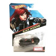 Hot Wheels Marvel Character Cars - Black Widow